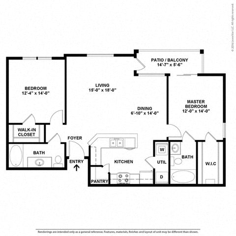 Floor Plan at Orion Prosper, Prosper, Texas