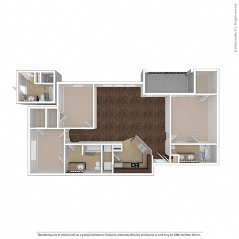 Floor Plan at Orion Prosper, Texas