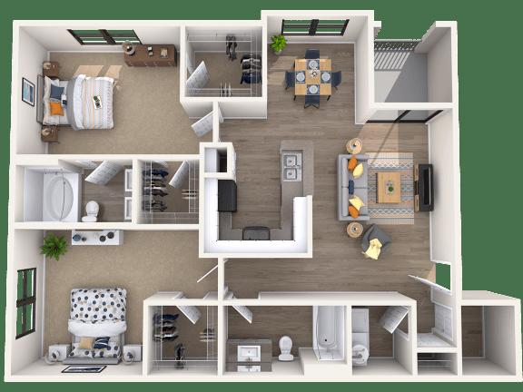 Floor Plan  E