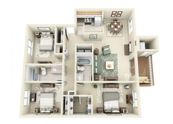 Floor Plan  Bainbridge Floor Plan at StonePointe, Washington, 98466