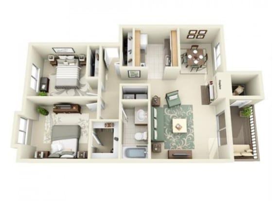 Floor Plan  Vashon Floor Plan at StonePointe, University Place, WA