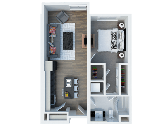 A12 Floor Plan l Coliseum Connection Apartments in Oakland, CA