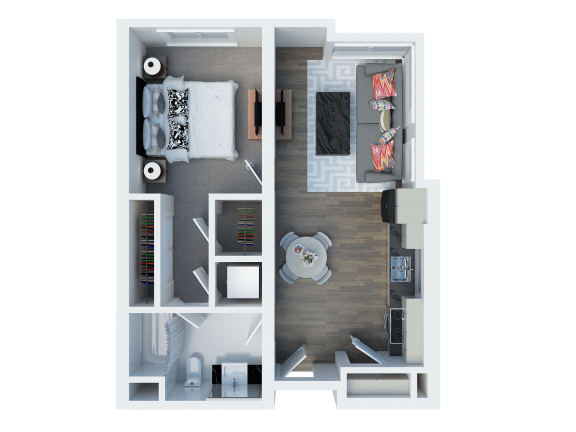A14 Floor Plan l Coliseum Connection Apartments in Oakland, CA