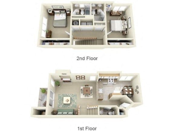 Floor Plan  at Montair at Somerset Hill, Tumwater, 98512