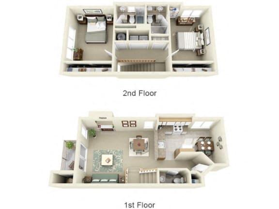 Floor Plan  at Montair at Somerset Hill, Tumwater, WA