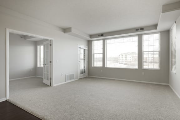Large Living Room at Waterstone Place, Minnetonka, Minnesota