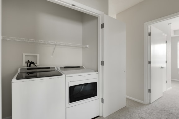 Energy Efficient Washer And Dryer at Waterstone Place, Minnetonka, Minnesota