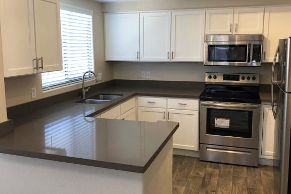 Gourmet Kitchen with Appliances at Short Term Rentals Tucson