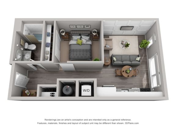 Floor Plan  Residences at CityWay Brand New Apartments in Indianapolis