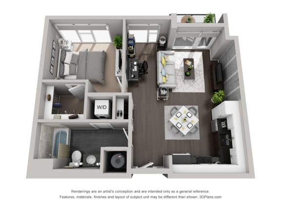Residences at CityWay Brand New Apartments in Indianapolis