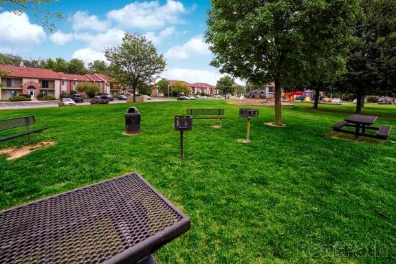 BBQ Picnic Area at Creekside Square, Indianapolis, 46254