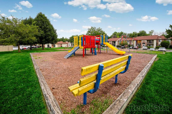 Playground at Creekside Square, Indianapolis, Indiana