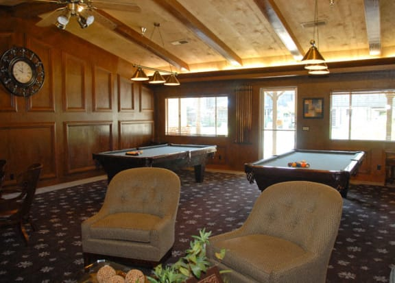 Billiards Table at Scottsmen Too Apartments, California, 93612