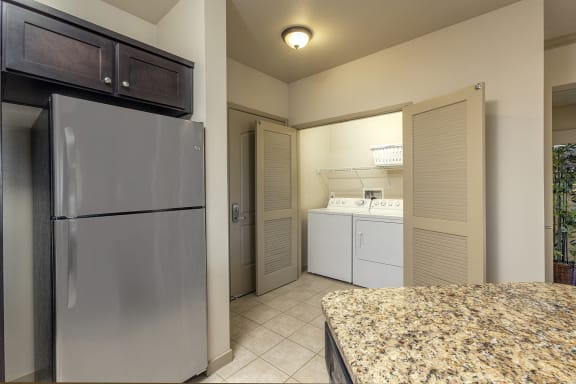 Modern Laundry Room at 55+ FountainGlen  Jacaranda, California, 92833