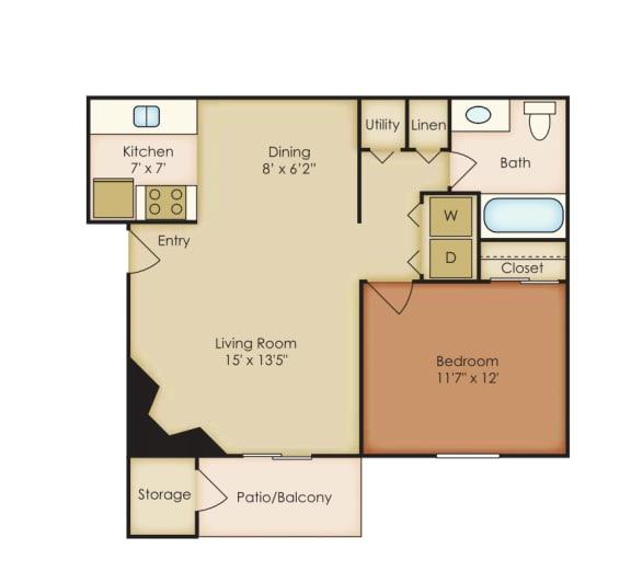 Floor Plan  Azalea 1