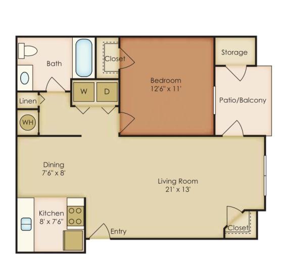 Floor Plan  Azalea 3