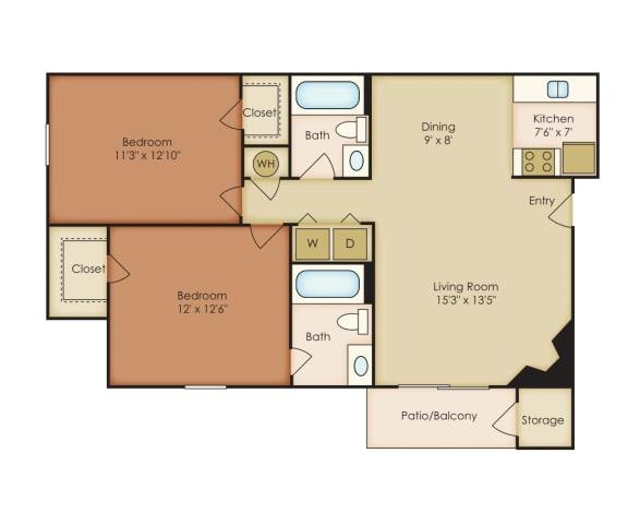 Floor Plan  Magnolia 1
