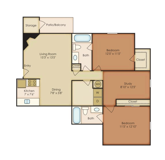 Floor Plan  Magnolia 3