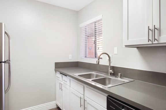 Kitchen Sink at Pacific Trails Luxury Apartment Homes, Covina, CA