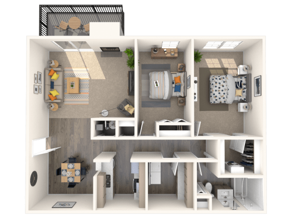 2 bedroom apartments fairfax