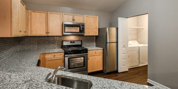 Open Concept Kitchens Owings Park Apartments