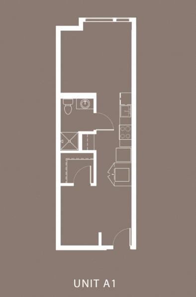 The Century Floor Plan Unit A1