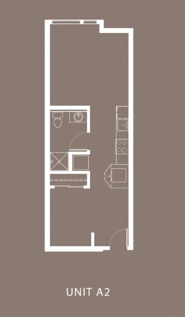 The Century Floor Plan Unit A2