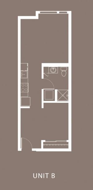 The Century Floor Plan Unit B