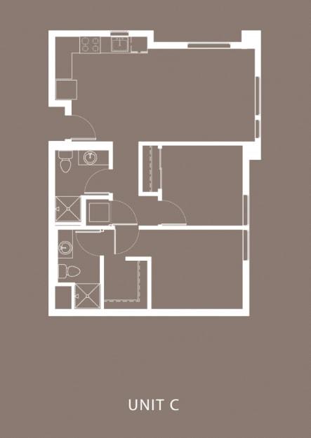 The Century Floor Plan Unit C