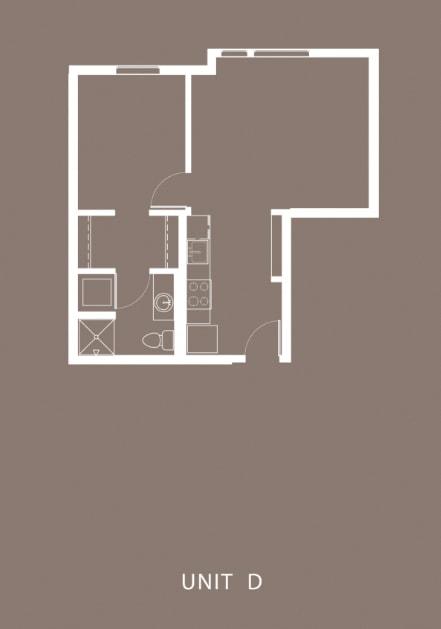 The Century Floor Plan Unit D