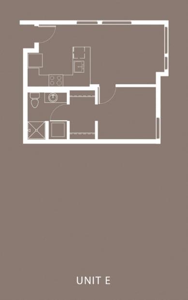 The Century Floor Plan Unit E