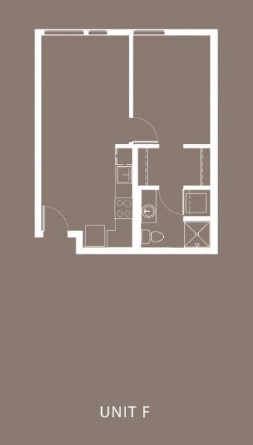 The Century Floor Plan Unit F
