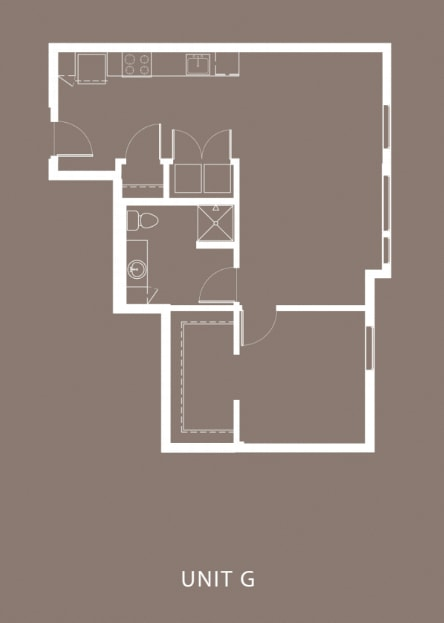 The Century Floor Plan Unit G