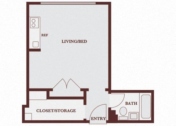 Floor Plan  John Winthrop A1 floor plan
