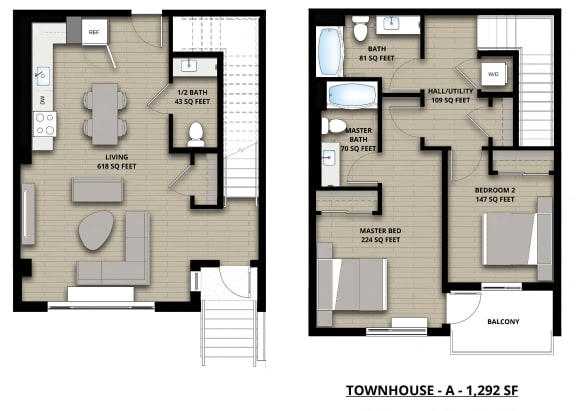Floorplan Townhouse A