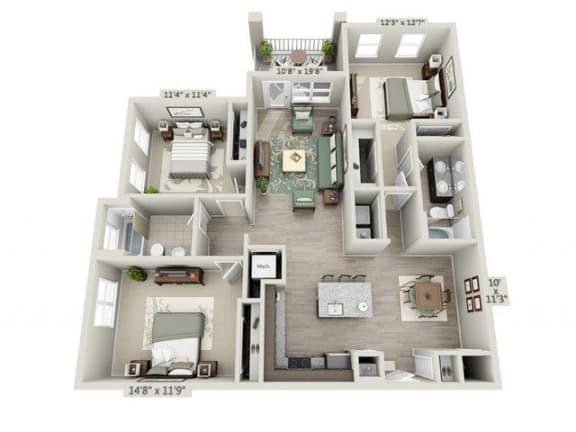 Floor Plan  The Piedmont