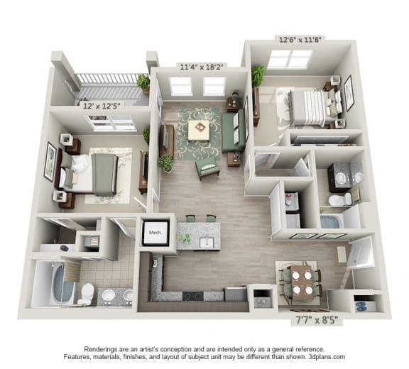 Floor Plan  The Grant