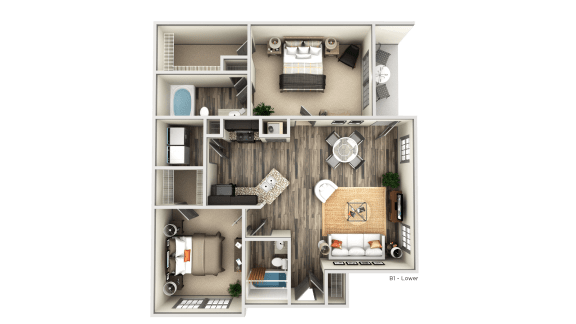 Floor Plan  B1 LOWER