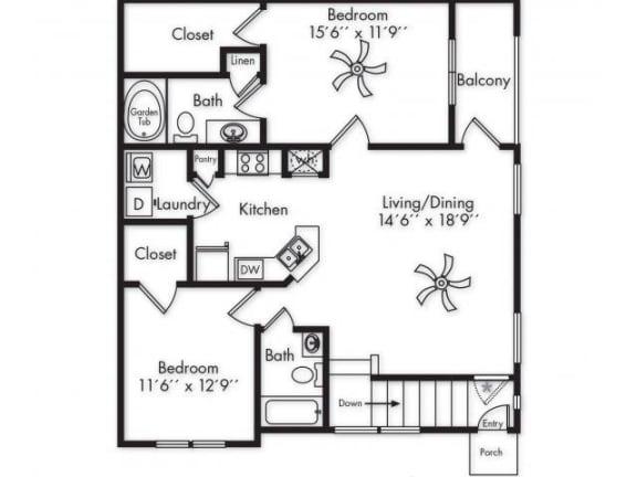 Floor Plan  B1 UPPER