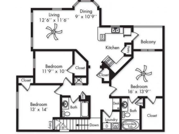 Floor Plan  C1 UPPER