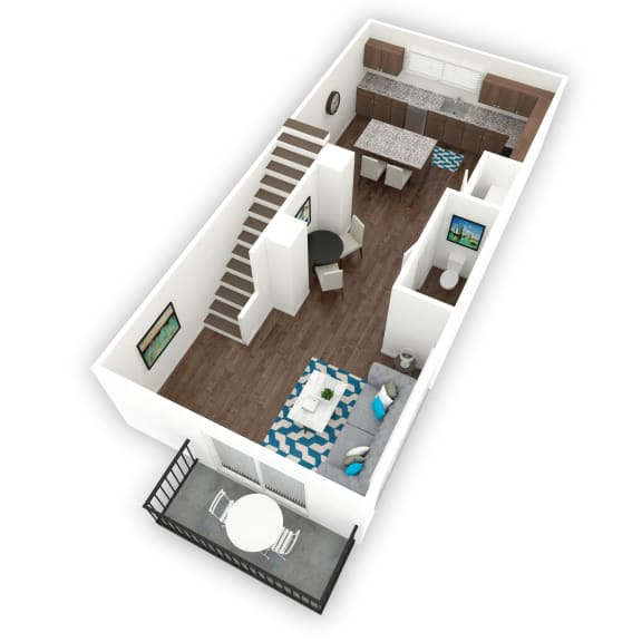 Floor Plan Brixton