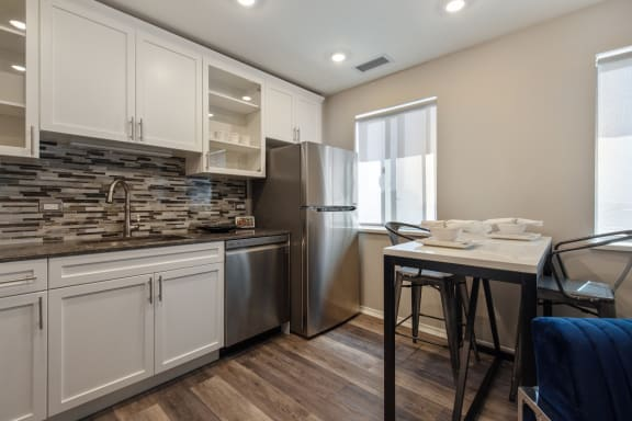 Airy Kitchen at Park Heights by the Lake Apartments, Chicago, Illinois