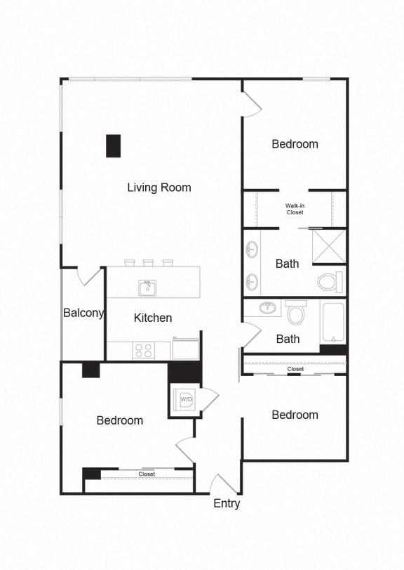 Floor Plan  Couch9FP_C_3b2b_1404sf
