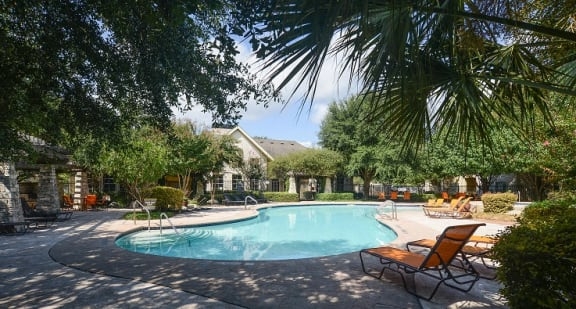 Outdoor Swimming Pool at Saddle Creek & The Cove, Austin, 78748