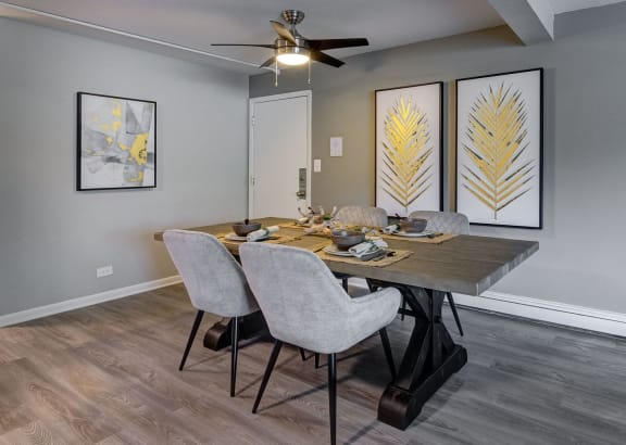 Graceful Dining Area at Westmont Village, Illinois, 60559