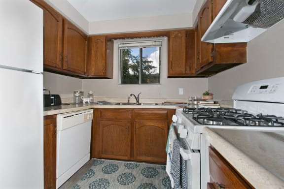 Fully Equipped Kitchen at Westmont Village, Westmont, Illinois