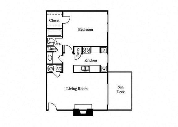 Floor Plan  floorplan layout for the aster