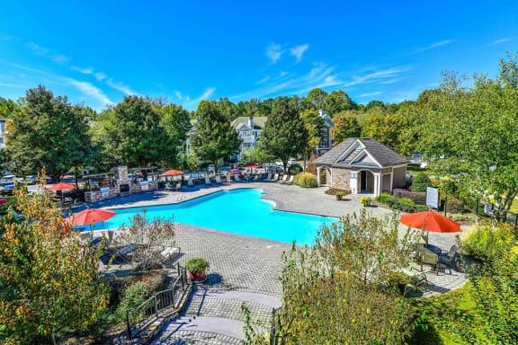 Glimmering Pool, at Crestmark Apartment Homes, Lithia Springs, GA