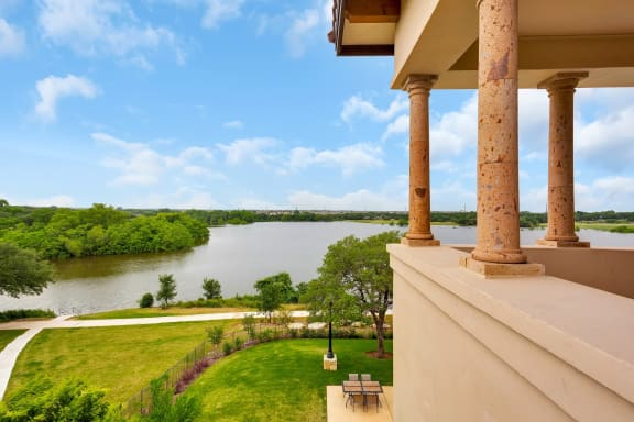 Lush Green Outdoors at Muir Lake, Texas