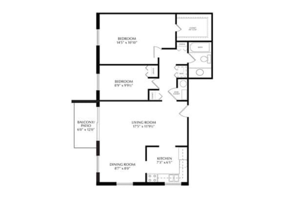 Birch floorplan